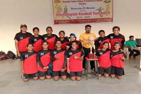 Girls Handball Team